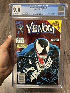 Venom: Lethal Protector #1 CGC 9.8 Newsstand/UPC Variant