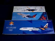 1:200 Flight Miniatures Long Prosper Delta 757-200 767-200 777-200 Olympic Games