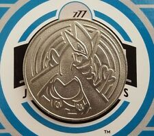 Lugia 2001 Silver Metal Pokemon Collector Coin