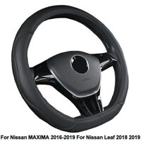Car Steering Wheel Cover D Type For Nissan MAXIMA 2016 - 2019 For Leaf 2018 2019