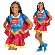 Girls Supergirl Costume High School Comic Superhero Book Day Week