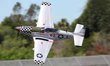 1/7 scale P-51 MUSTANG scratch build R/c Plane Plans 60 in wing span