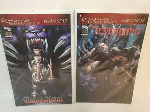 Grimm Fairy Tales The Dream Eater Saga Part 4 and 5. Wonderland and Neverland