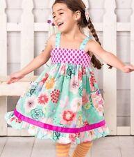 Matilda Jane The Adventure Beging Heads Up Seven Up Dress Size 10 New
