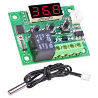 Digitaler Thermostat 12V DC Temperaturschalter Temperaturregler mit Sensor W1209