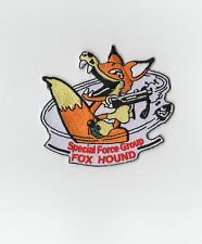 METAL GEAR SOLID FOXHOUND Patch Iron On Retro from MSX by ZANZIBARLAND