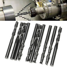10Pcs 1/8'' 4 Flutes Carbide End Mill Set Tungsten Steel Milling Cutter Tool CNC