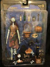 Nightmare Before Christmas Sally NECA Figure Set Series 1 Cat Pumkin Basket Rare