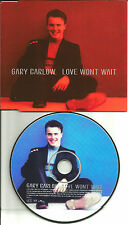 Take That GARY BARLOW Love Won't Wait 1997 UK Made PROMO DJ CD Single USA SELER