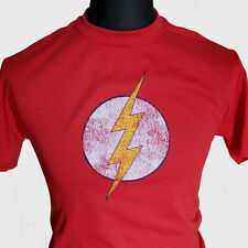 The Flash T Shirt Super Hero Comic Book Inspired red