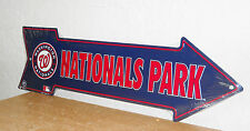 "Washington Nationals Arrow Sign "" Nationals Park "" New  20 x 6"