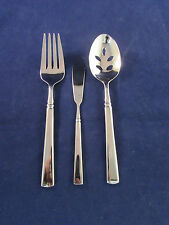 Oneida Stainless EASTON (GLOSSY) 3pc Serving Set (s) USA