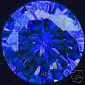 11,24 ct Royal Blue Natural Zircon - Brilliant cut - IF
