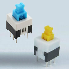 6 Pin Tactile Switch 2 x Momentary, 2 x Latching, 8 x 8 - 4 Total KP