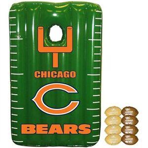 Chicago Bears Team Toss Inflatable  Bean Bag Toss Game