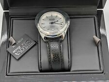 Bulova AccuSwiss Telc Automatic Leather Mens Watch 63B184 -J5320