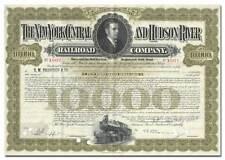 New York Central & Hudson River Railroad Company Bond Certificate