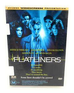 Flatliners (DVD, 1990) Kiefer Sutherland Region 4 Free Postage