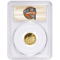2020-W Proof $5 Gold Basketball Hall of Fame PCGS PR70DCAM FS HOF Label