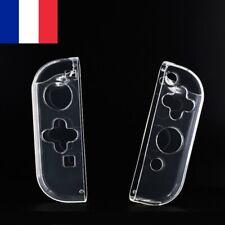2X Coque de Protection Transparente Silicone Joystick Joy-Con Nintendo Switch