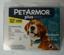 Pet Armor Plus for Dogs 6 Application Value Pack Medium Dogs 23-44lbs