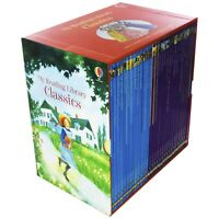 Usborne My Reading Library Classics 30 Books Children Collection Paperback Set