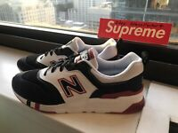 NEW BALANCE 997H CM997HBX BLACK/TEAM RED/WHITE SIZE 10 WITHOUT BOX ***NEW*** USA