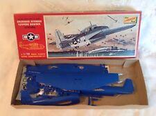 VINTAGE 1968 LINDBERG LINE GRUMMAN AVENGER 1/72 SCALE WW-II AIRPLANE MODEL KIT