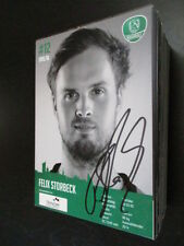 54846 Felix Storbeck SC DHFK Leipzig Handball original signierte Autogrammkarte