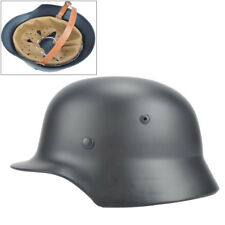 Gray WW2 German Elite WH Army M35 M1935 Steel Helmet Stahlhelm Retro Pretty