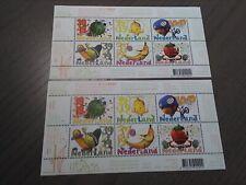 Nederland NVPH 2295 2x Vel Kinderzegels 2004 Frankeerwaarden Postfris !!!