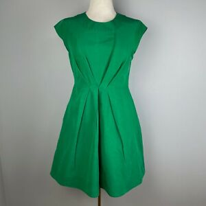 Kate Spade Emerald Green Shift Dress w/ Pockets Size 8
