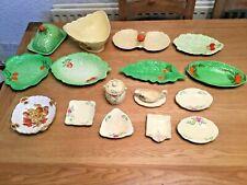 Collection of  vintage Crown Devon ( S fielding's ) & Carlton ware pottery