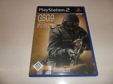 PLAYSTATION 2 PS 2 gsg9 anti-terrorismo Force