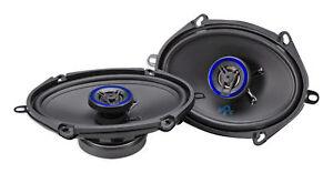 "Pair AUTOTEK ATS5768CX 5x7""/6x8"" 500 Watt 2-Way Car Audio Coaxial Speakers"