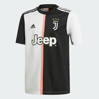 adidas 2019-20 Juventus Home YOUTH Soccer Jersey DW5453 Size YOUTH LARGE