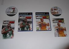 NBA 2K10 & NBA 2K9 pour Playstation 2 TRÈS RARE & HARD TO FIND""
