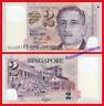 SINGAPUR SINGAPORE 2 Dollars dolares 2006-2015 Polymer Pick 46g   SC / UNC