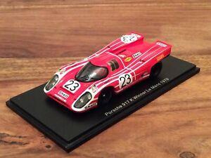1/43 Porsche 917 K #23 R.Attwood/H.Herrmann Sieger 24h Le Mans 1970 SPARK 43LM70