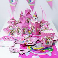 21 Styles Unicorn Theme Party Decoration Kids Birthday Party Festival Supplies