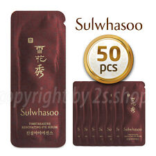 [Sulwhasoo] Timetreasure Renovating Eye Serum 1ml x 50pcs