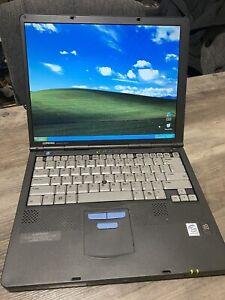 Compaq Armada M700 Laptop: Windows XP, Intel Pentium III, 20GB HDD, 576MB RAM