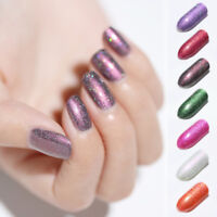 NICOLE DIARY 6ml Peel Off Holographicss Nail Polish Glitter Nail Varnish