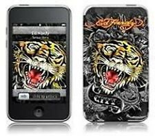 Ed Hardy Tattoo Skin Tiger - To Suit iPod Touch 2G - Grey