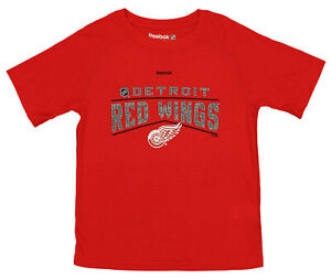 Reebok NHL Kids (4-7) Detroit Red Wings TNT Freeze Ultimate Short Sleeve T-Shirt