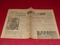 [PRESSE WW2 GUERRE 39/45] PARIS-SOIR Sprint (Toulouse) #6821 MARDI 30 JUIN 1942