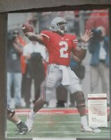 Terrelle Pryor Autographed Gold Ink poster 16 By 20 Ohio state buckeyes