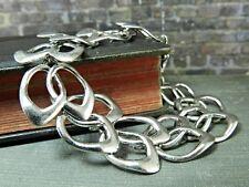 Vintage WRE - W.E. Richards Modern Open Link Sterling Silver Bracelet