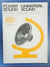 isophon Power Sound Universal Sound Leporello H2733
