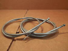 New-Old-Stock Shimano Brake Cable/Housing Set w/Clear Color and Gold Labeling